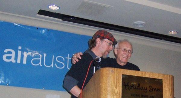 Jim Thatcher and Jim Allen at Air Austin