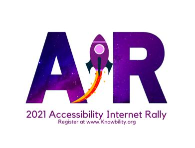 2021 Accessibility Internet Rally Logo